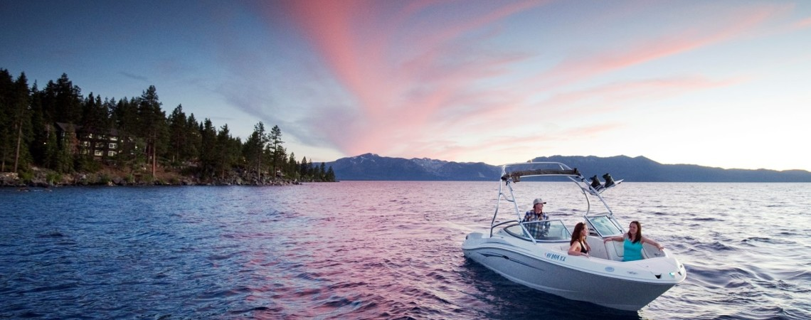 Sunset on Lake Tahoe